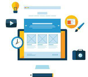 طراحی قالب سایت ، Website Template Design